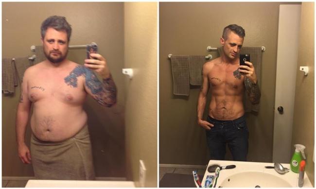 25 font fogyás előtt és után