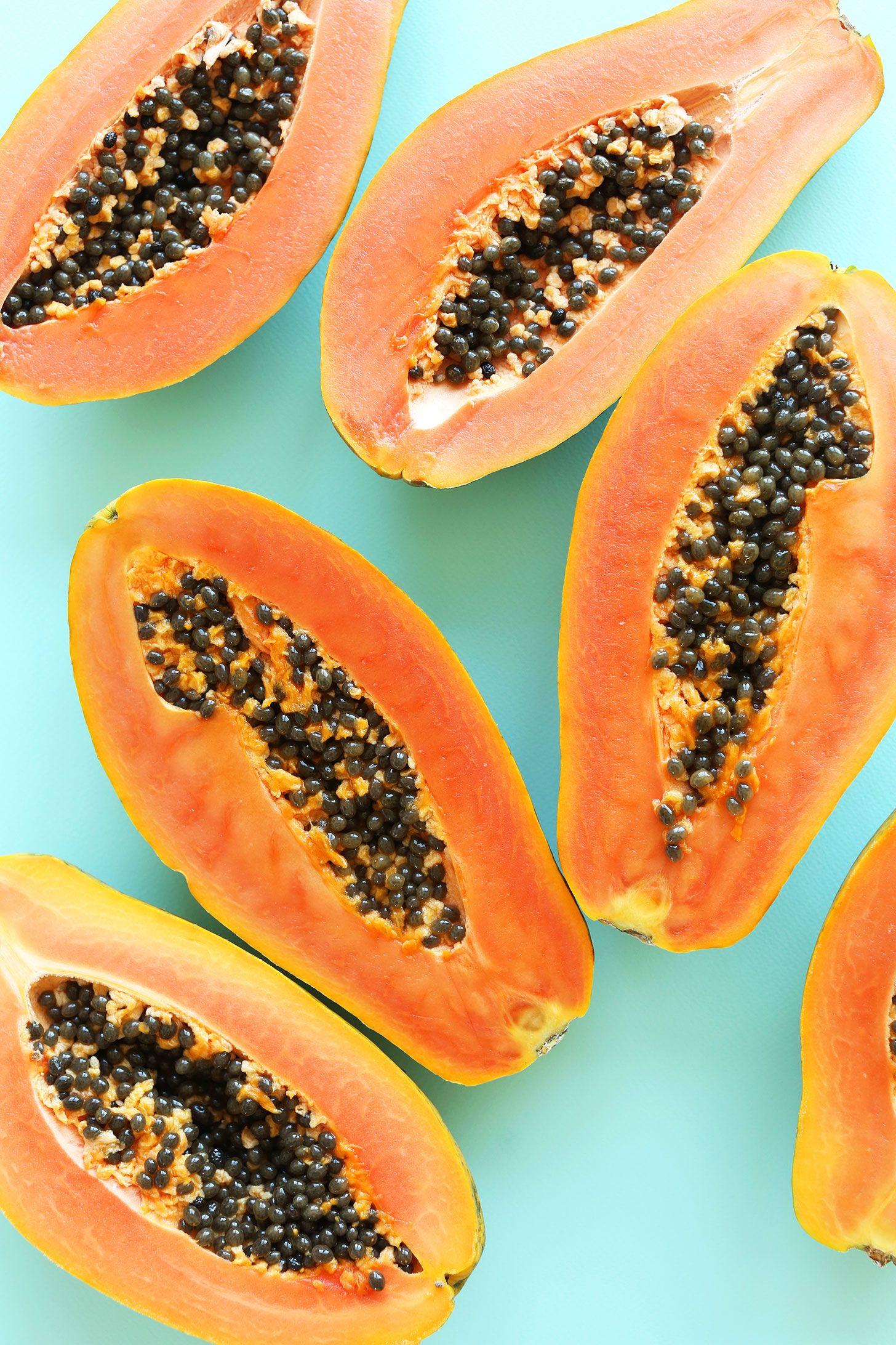 papaya enzim fogyás