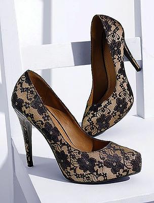 ORIGO CÍMKÉK - magassarkú cipő