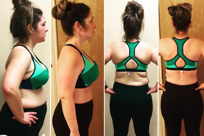 80 napos fogyás átalakulás