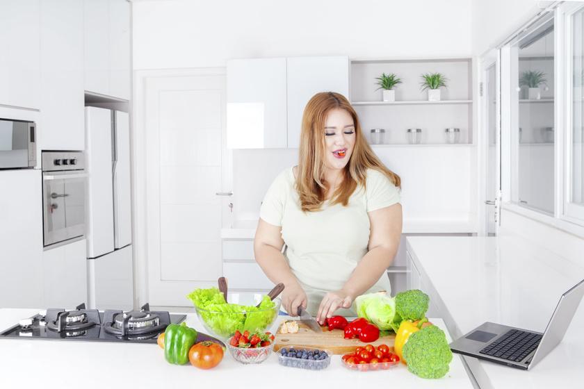 fogyókúrás konyhás