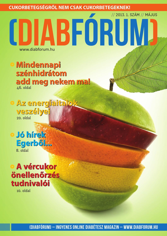DiabFórum diabétesz magazin /1 - május by DiabFórum - Issuu